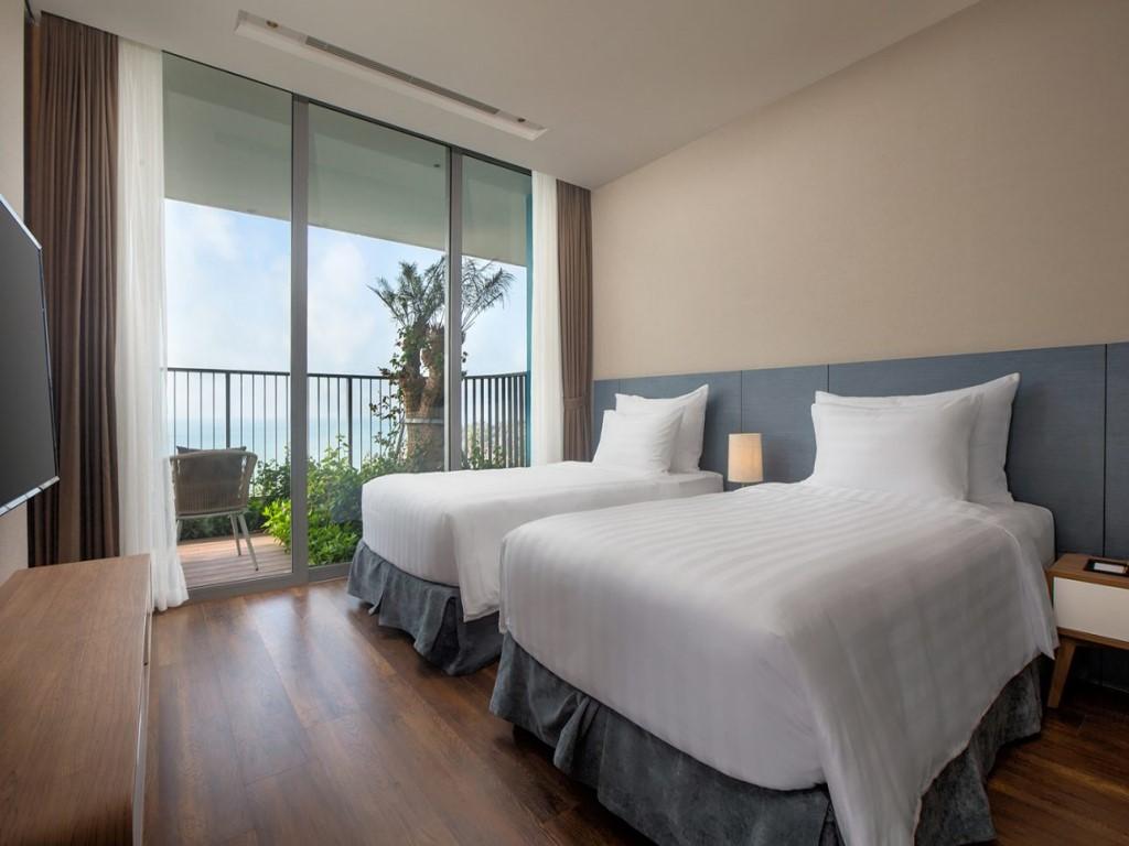 Phòng ngủ Flamingo Cát Bà Beach Resort