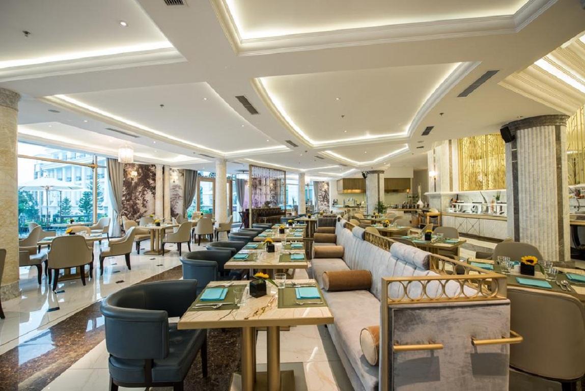 Khu Vực Nhà Hàng Khách Sạn Vinpearl Resort & Spa Hạ Long