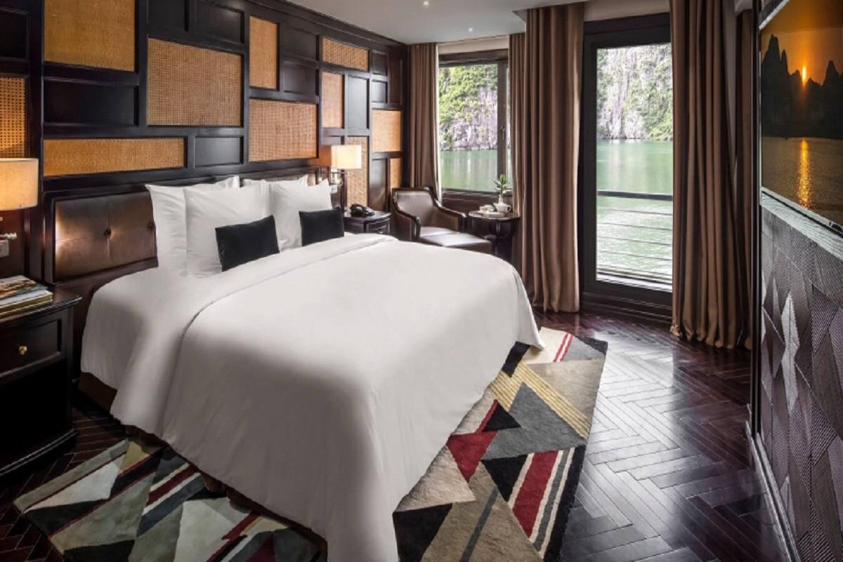 Phòng ngủ hạng Ambassador - Du thuyền President