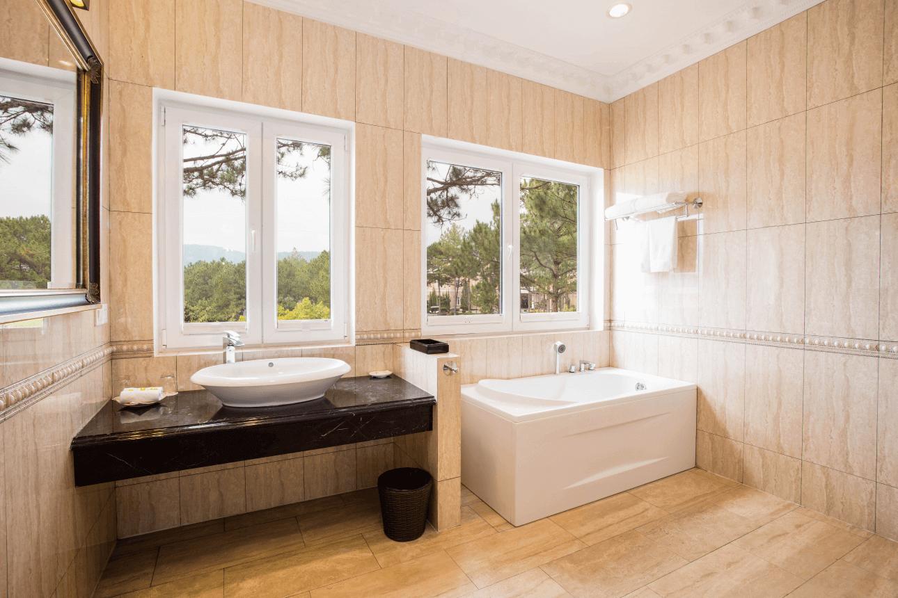 Phòng tắm hạng phòng Mimosa