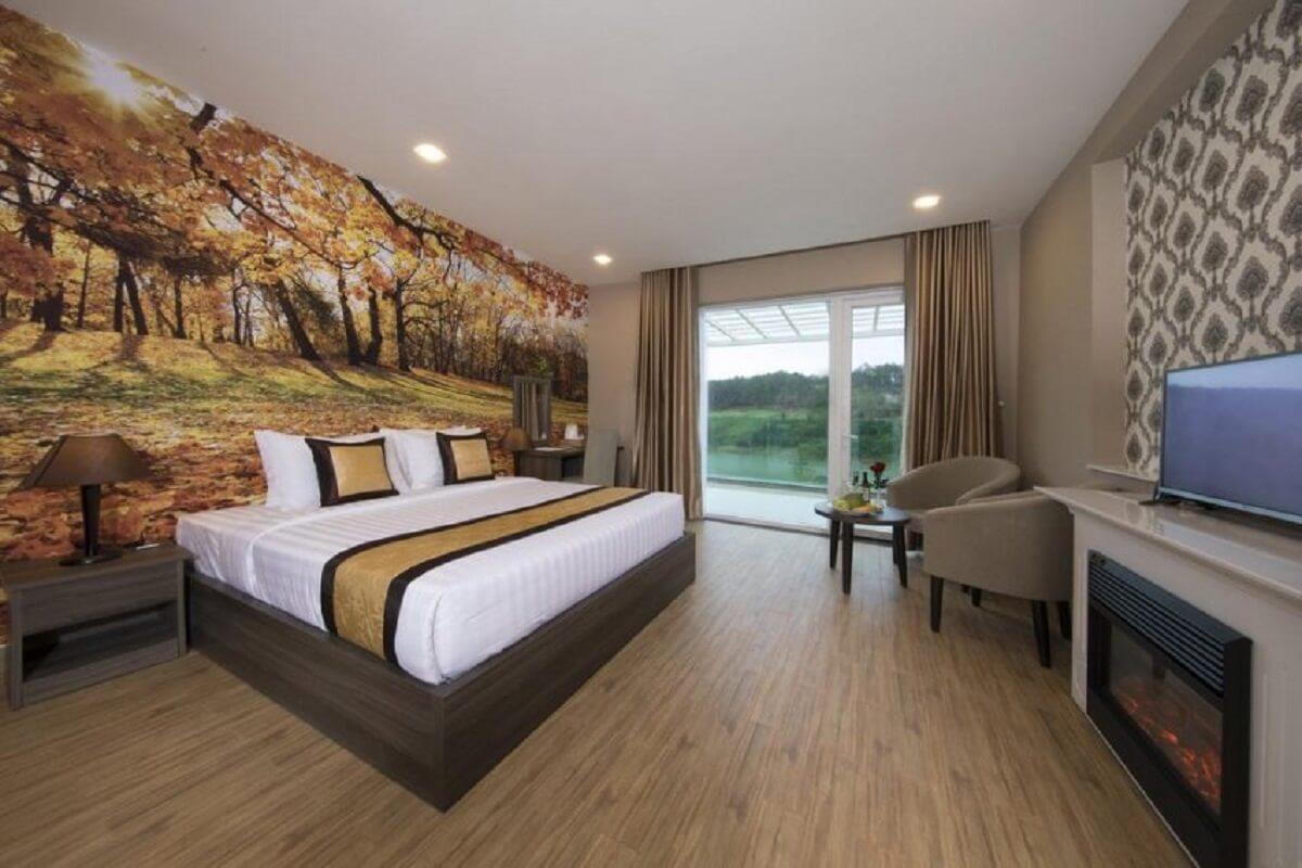 Phòng ngủ hướng hồ
