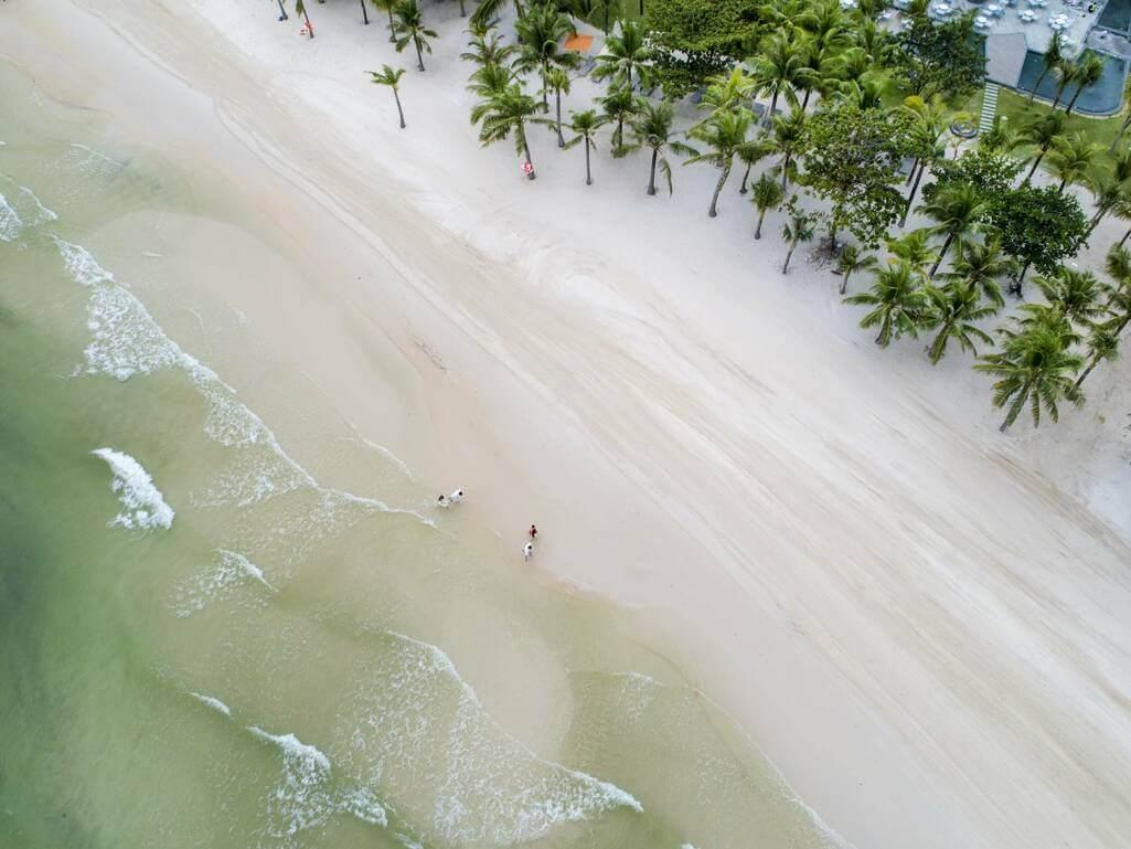 Bãi biển Premier Residences Phú Quốc Emerald Bay