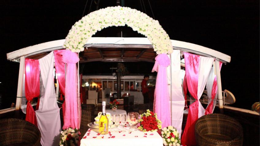 Tiệc cưới lãng mạn