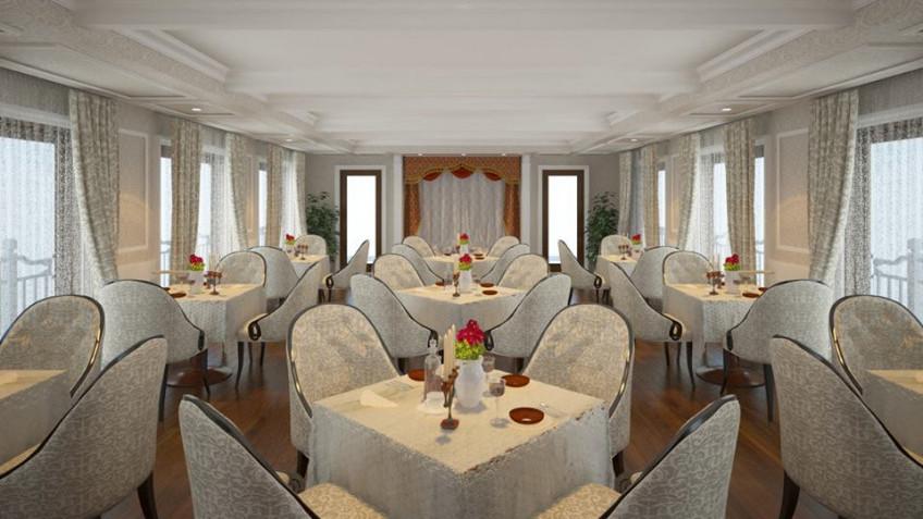 Nhà hàng trên du thuyền