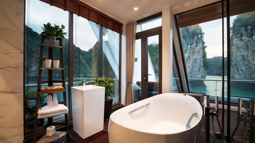 Phòng tắm hạng phòng President