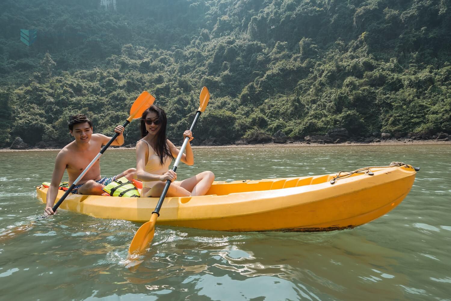 Kayaking - Catamaran Cruise