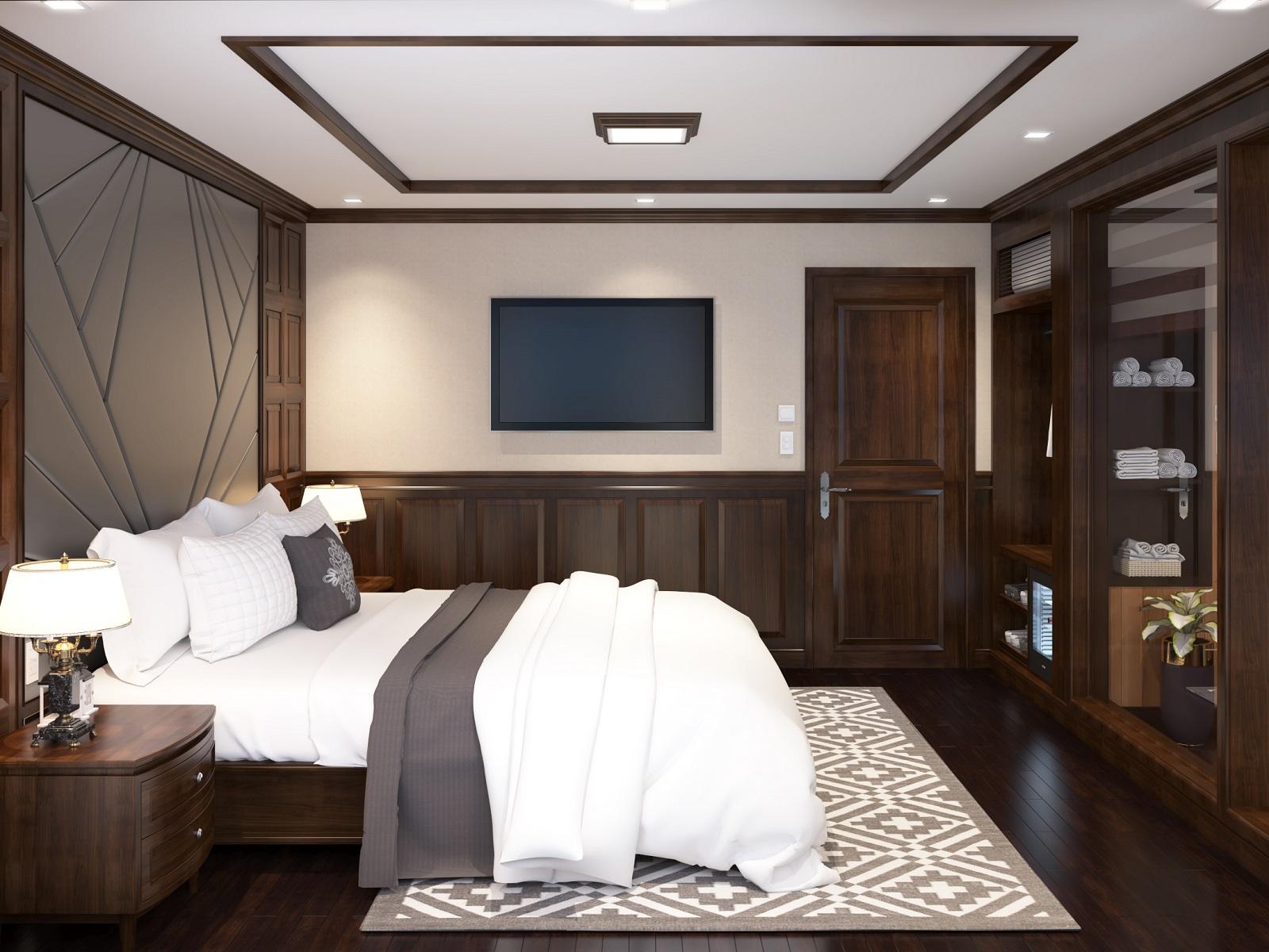 Phòng Princess Suite du thuyền La Regina Legend