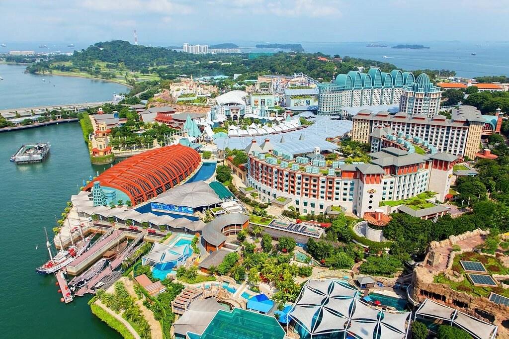 Đảo Sentosa, Singapore từ trên cao