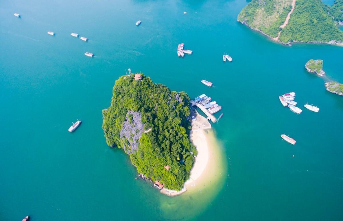 du lịch đảo Titop - vùng biển bình yên