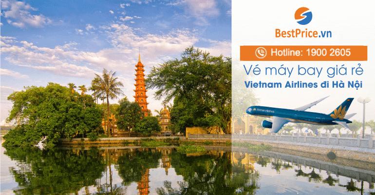 Đặt vé máy bay Vietnam Airlines đi Hà Nội giá rẻ