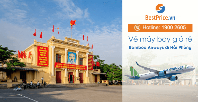 Vé máy bay đi Hải Phòng hãng Bamboo Airways