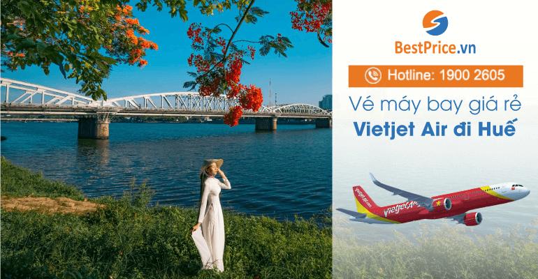 Vé máy bay hãng Vietjet Air đi Huế