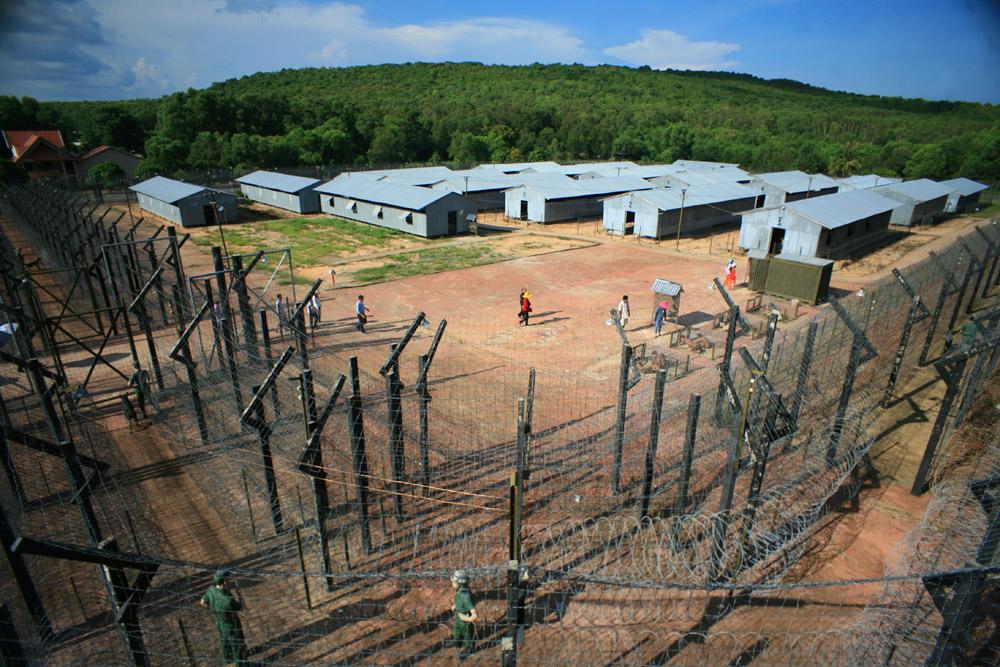 Tổng thể nhà tù Phú Quốc