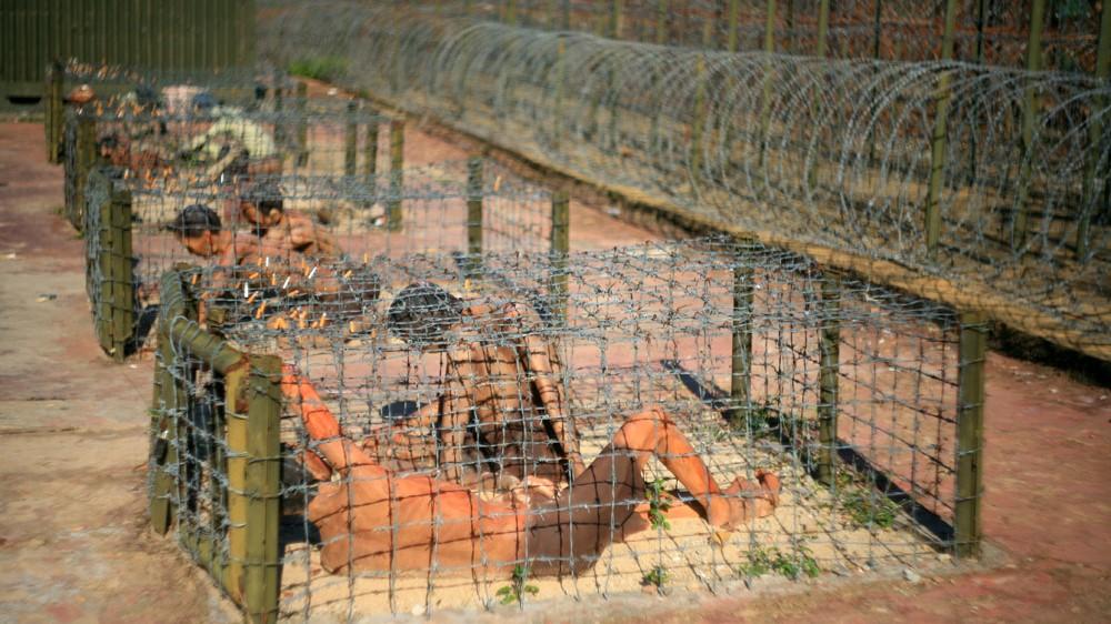 Chuồng Cọp - hình thức tra tấn dã man đối với tù binh