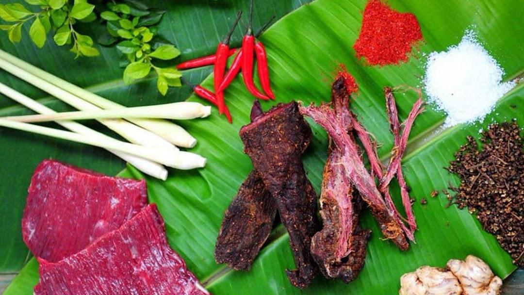 Trâu gác bếp ở Mộc Châu