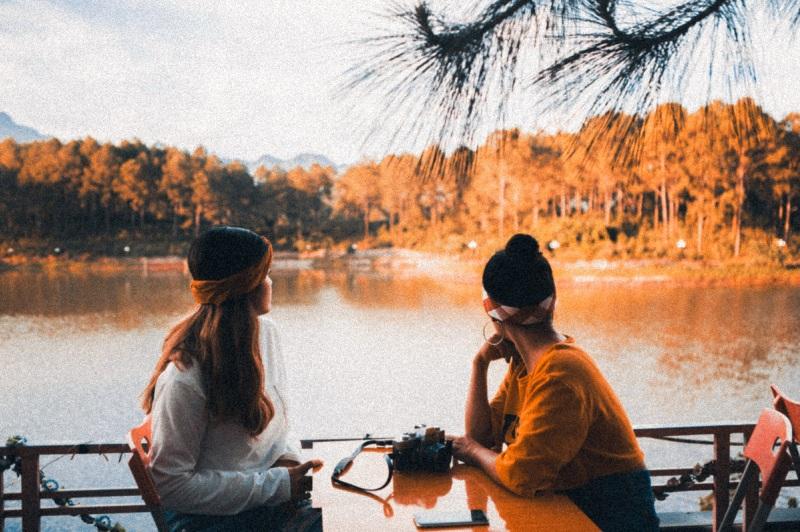 check - in tại rừng thông Bản Áng