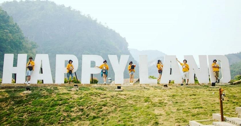 Check-in Happy Land, Mộc Châu