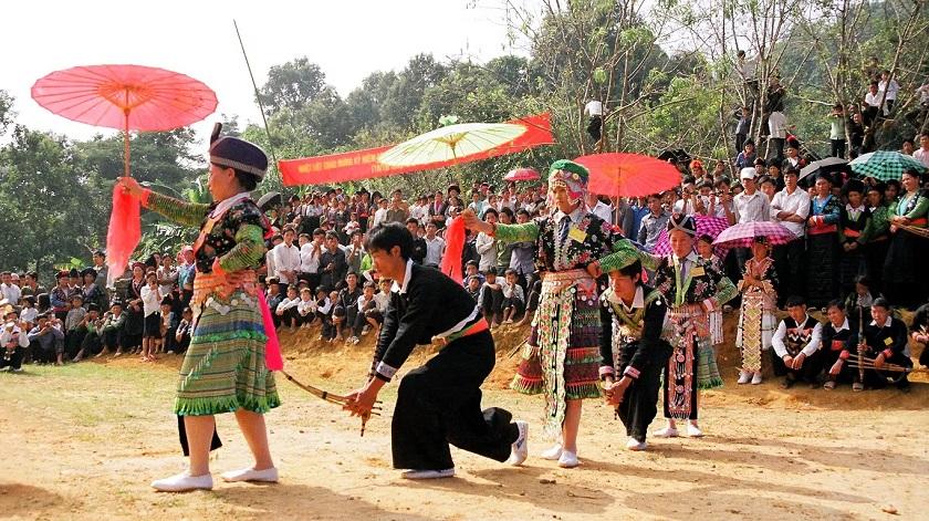 Tết độc lập của dân tộc Mông