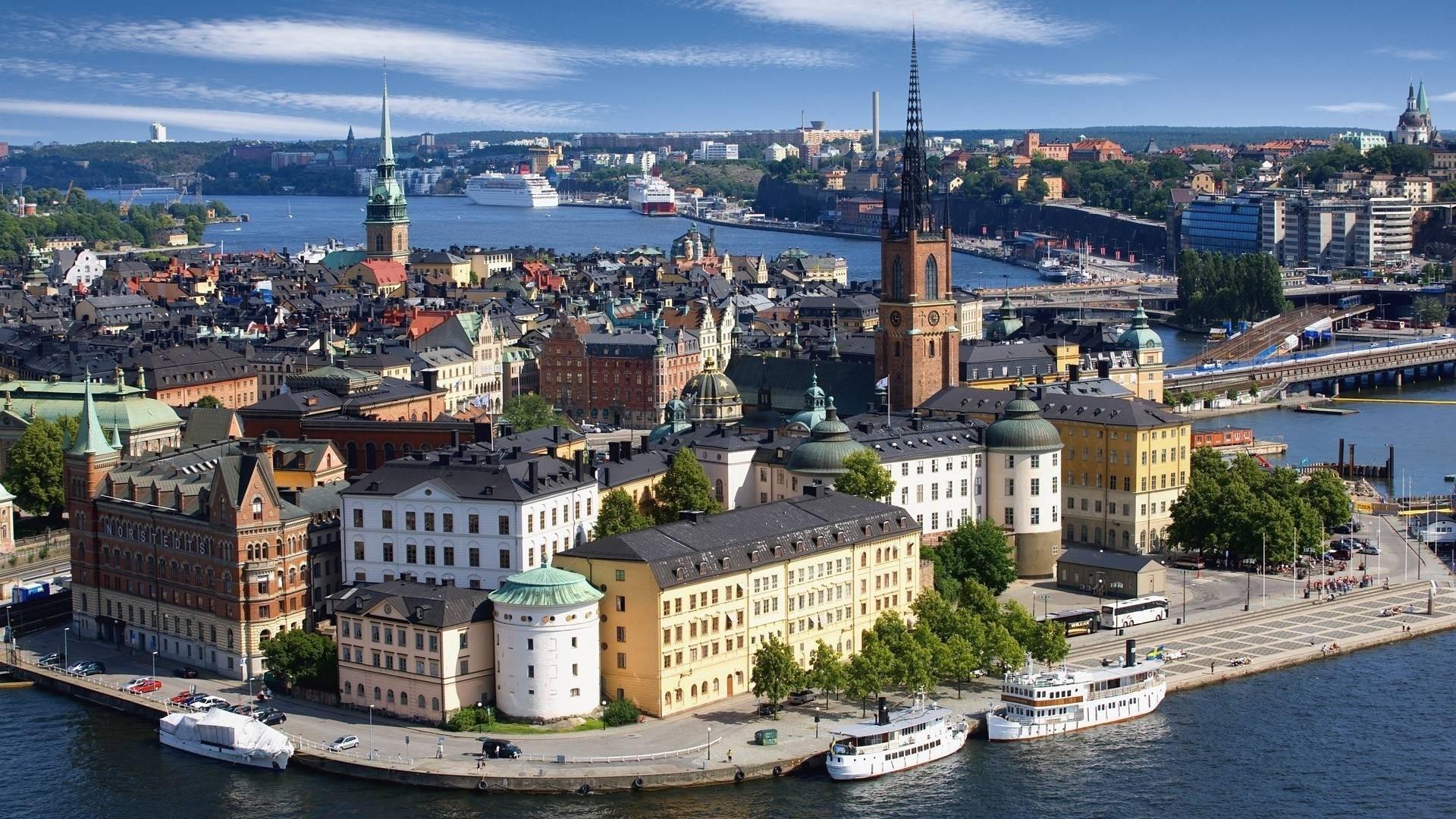 Kết quả hình ảnh cho Thủ đô Stockholm