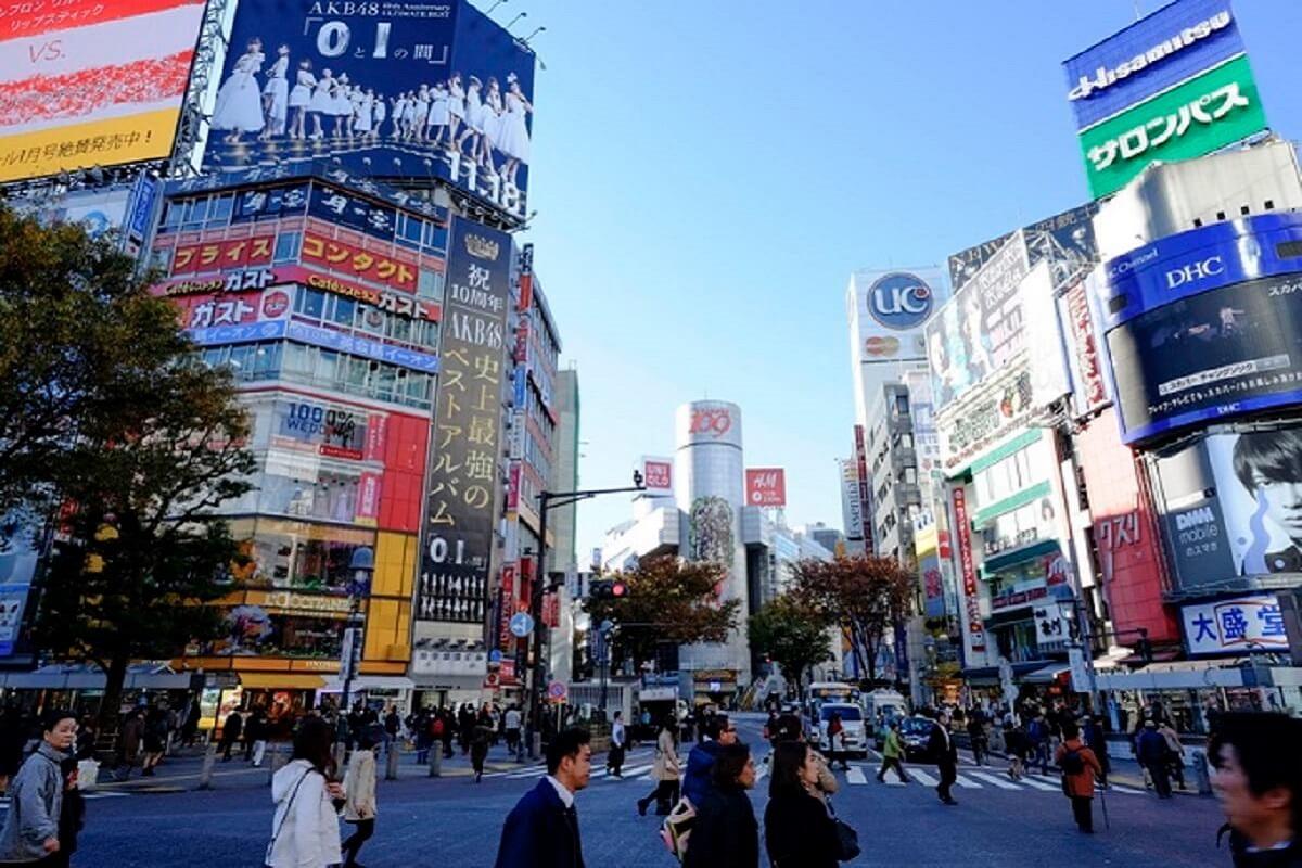 Đường phố Shibuya