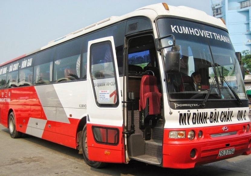 Xe khách đi thành phố Hạ Long