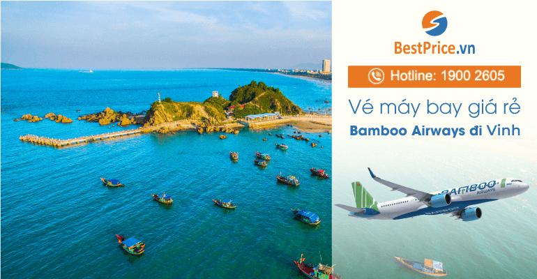 Vé máy bay Bamboo Airways đi Vinh
