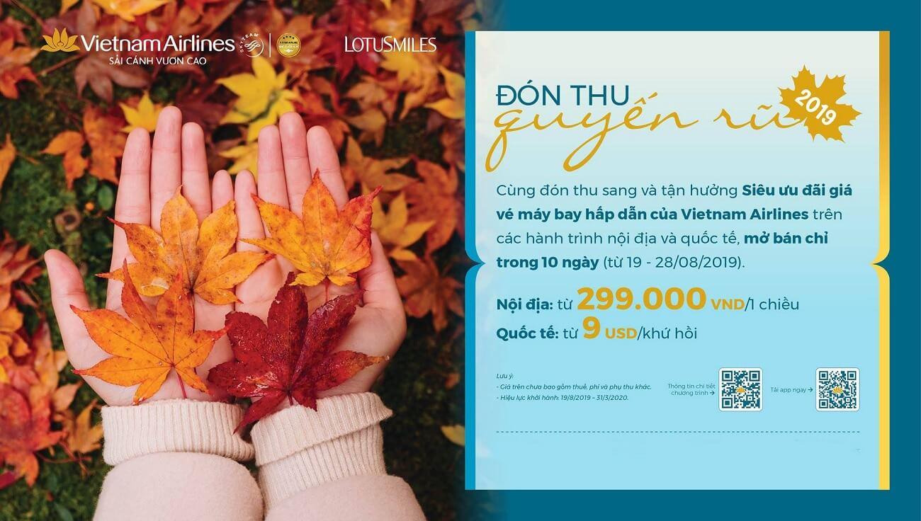 Chương trình Mùa thu vàng của Vietnam Airlines