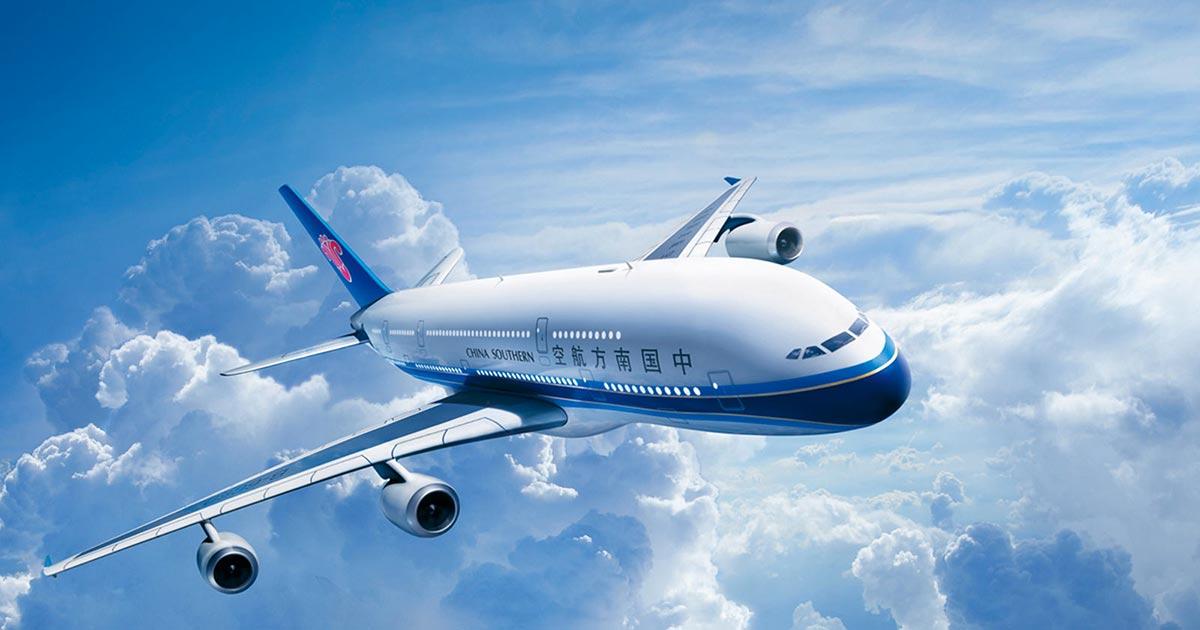 Máy bay hãng China Southern Airlines