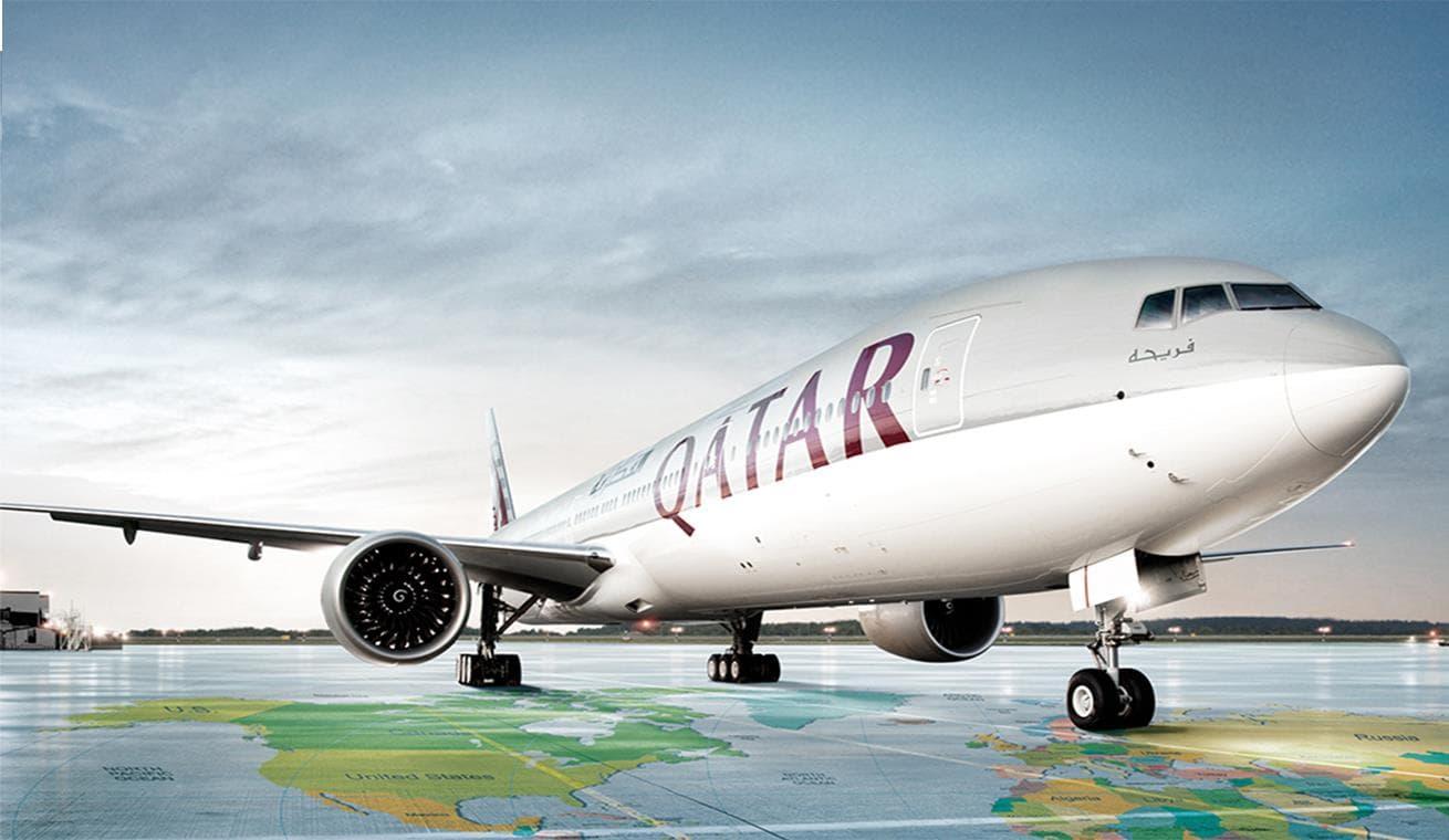 Máy bay Qatar