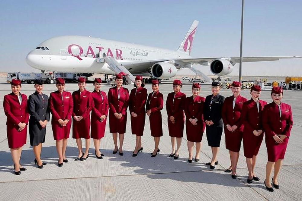 Tiếp viên hãng Qatar