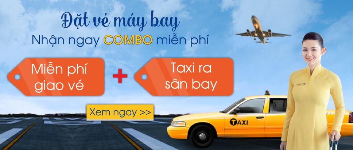 BestPrice miễn phí taxi ra sân bay và giao vé