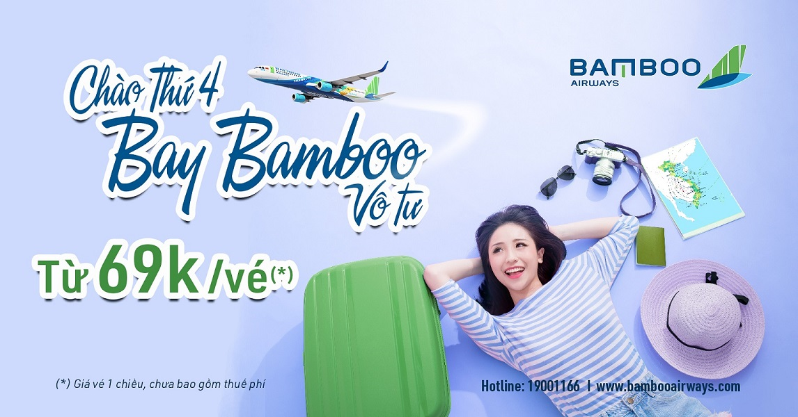 Thứ 4 bay Bamboo vô tư