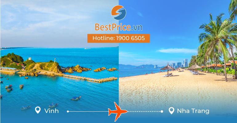 Đặt vé máy bay từ Vinh đi Nha Trang