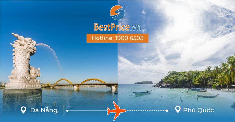 Vé máy bay giá rẻ từ Đà Nẵng đến Phú Quốc