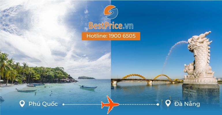 Vé máy bay giá rẻ từ Phú Quốc đi Đà Nẵng