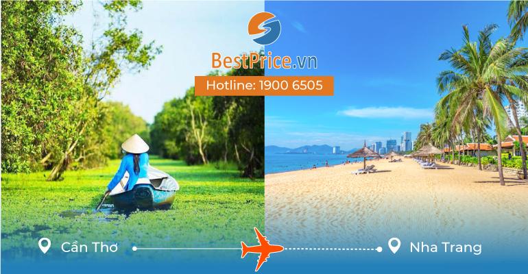 Đặt vé máy bay từ Cần Thơ đi Nha Trang