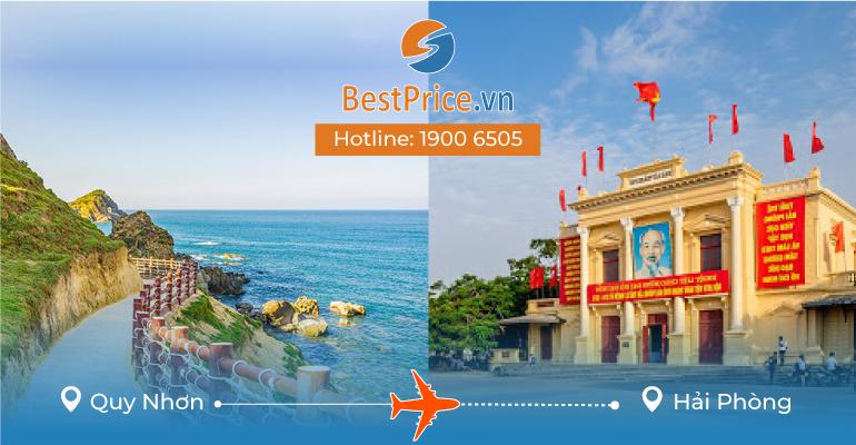 Đặt vé máy bay Quy Nhơn đi Hải Phòng