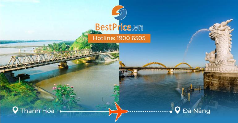 Vé máy bay giá rẻ từ Thanh Hóa đi Đà Nẵng