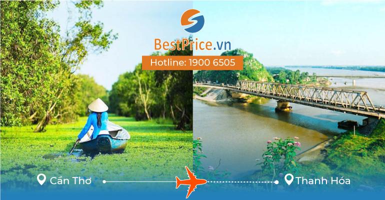 Đặt vé máy bay Cần Thơ đi Thanh Hóa