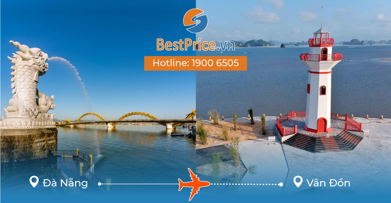 Vé máy bay giá rẻ từ Đà Nẵng đi Vân Đồn