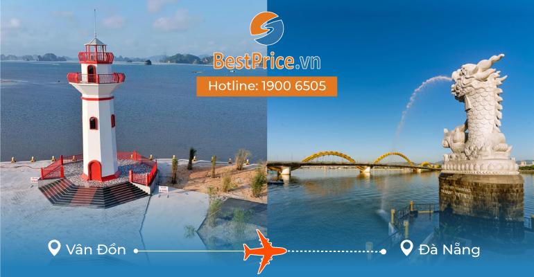 Vé máy bay giá rẻ từ Vân Đồn đi Đà Nẵng