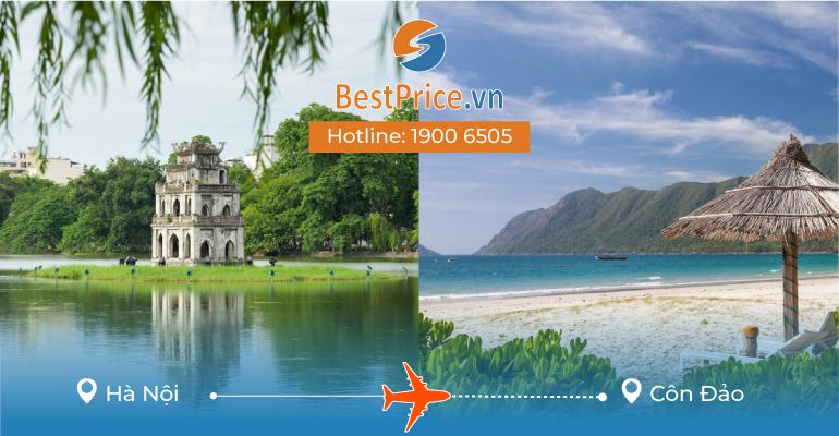 Đặt vé máy bay Hà Nội đi Côn Đảo
