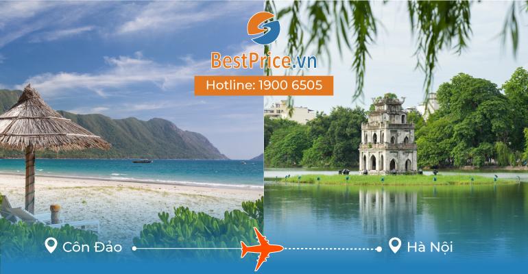 Đặt vé máy bay Côn Đảo đi Hà Nội