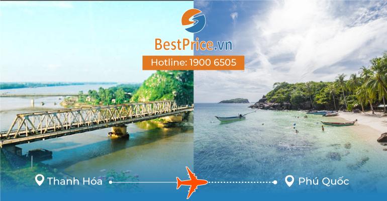 Đặt vé máy bay Thanh Hóa đi Phú Quốc