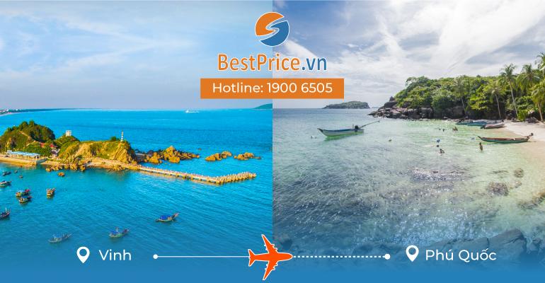 Vé máy bay giá rẻ từ Vinh đi Phú Quốc