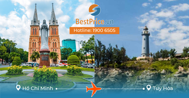 Vé máy bay giá rẻ từ Sài Gòn đi Tuy Hòa