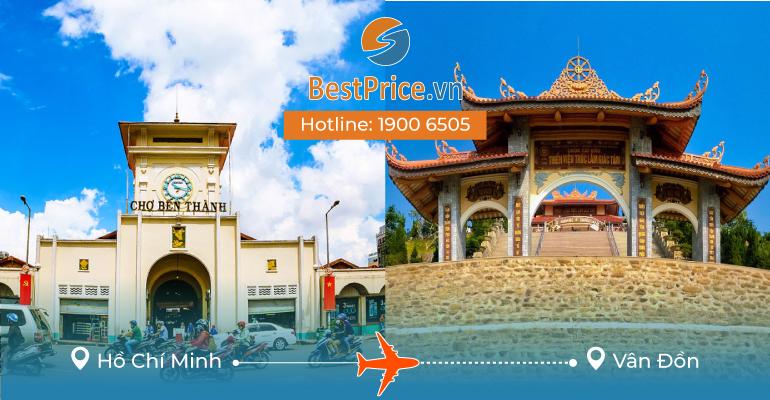Vé máy bay giá rẻ từ Sài Gòn - Vân Đồn