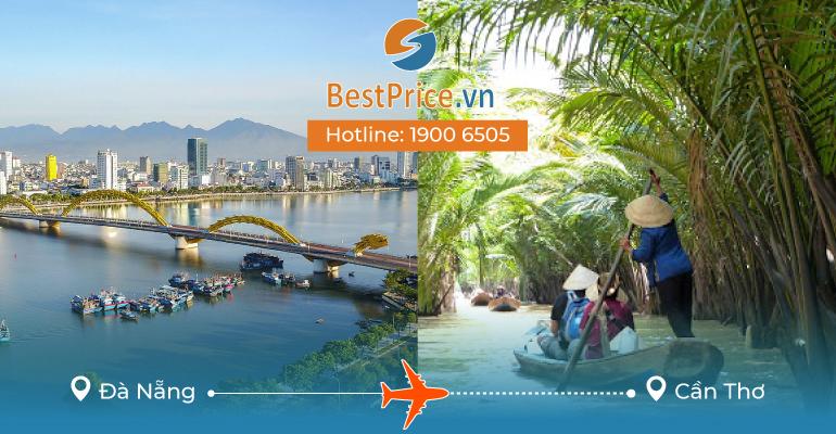 Đặt vé máy bay giá rẻ Đà Nẵng - Cần Thơ