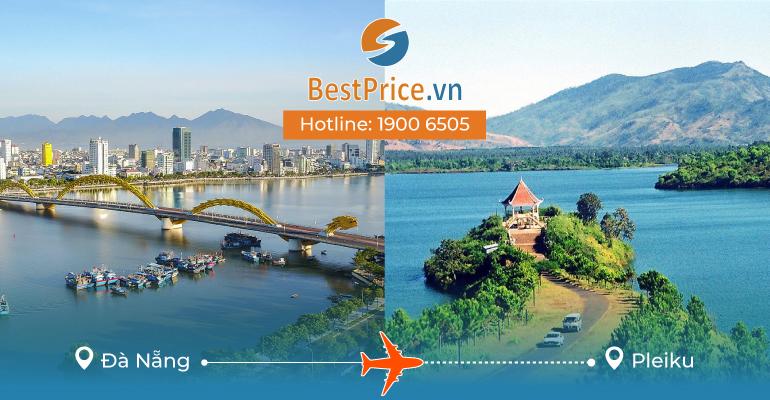 Vé máy bay giá rẻ từ Đà Nẵng đi Pleiku
