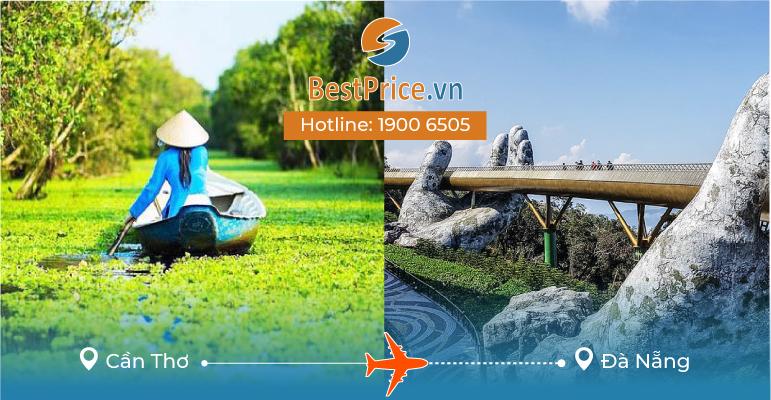Vé máy bay giá rẻ từ Cần Thơ - Đà Nẵng